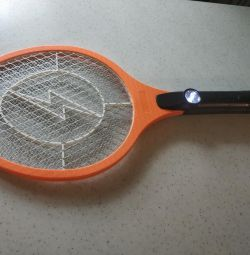 Electric Swatter Racket with Flashlight