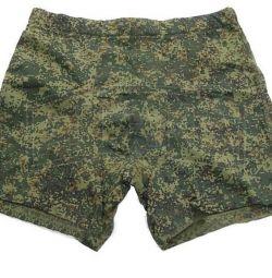 Pantaloni din armată Cifra este verde