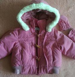 Курточка на  девочку 6 мес.