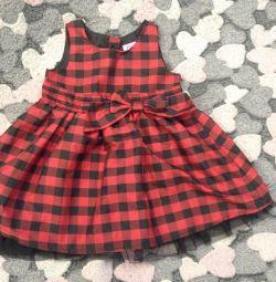 Φόρεμα για κορίτσια 1-1,5 ετών