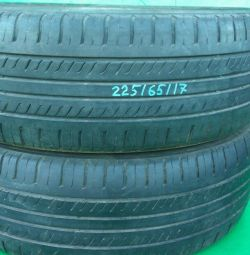 Two summer tires 17 radius Triangle