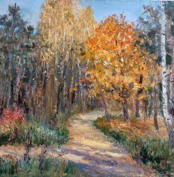 Φθινόπωρο ζωγραφική ελαιογραφία