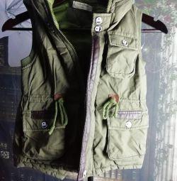 Vest children's Khaki!