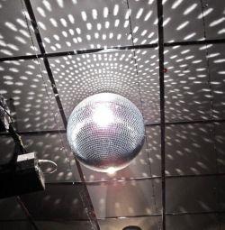 Диско болл дискошар зеркальный шарик шар