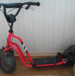 Scooter-SUV with inflatable wheels Wzoom