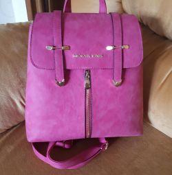 Michael teslimat ile sırt çantası sırt çantası