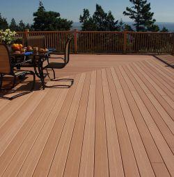 Larch deck board 120x28mm