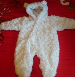 Costum pentru ursul bebelușului