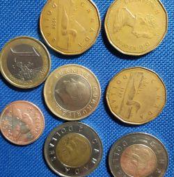 Νομισματικά νομίσματα του Καναδά