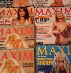 MAXIM Thick Glossy Magazines