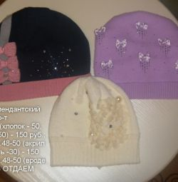 İlk sezon şapkaları, çözüm 48-50-52