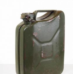 excellent steel canister 20 liter. under fuel
