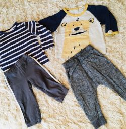 Trousers and longs Carter's, Mothercare, Next 12m