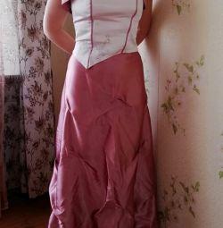Κομψό φόρεμα (φούστα, μπολερό, κορσέ)