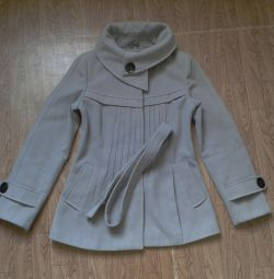 Light overcoat coat 42-44 size