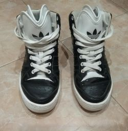 Adidas sneakers, original, leather, 36 size