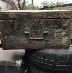 Ящик деревянный военный