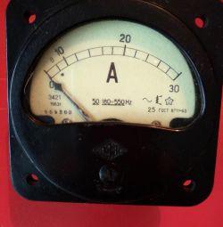 Ampermetre ve voltmetre
