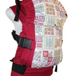 Ergo-sırt çantası Guslenok Pamuk + sapan