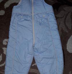 Warm jumpsuit