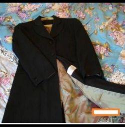 приталенное пальто лето-весна р 44