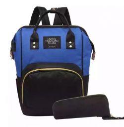 Новый рюкзак для мам с USB
