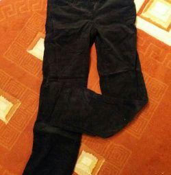 Jeans catifelat