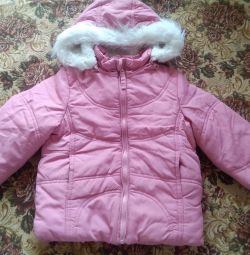 Jacket for girls (demi-season).