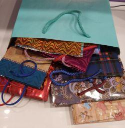 Όμορφες τσάντες δώρου