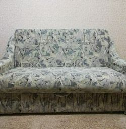 Sofa bed with storage box