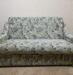 Диван-кровать с ящиком для хранения