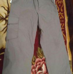 Pantaloni rezistenți la vânt