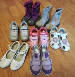 Παπούτσια για κορίτσια από 24 έως 28 ετών