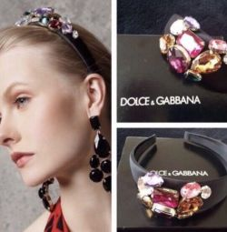 Dolce & Gabbana στεφάνι Αρχικό