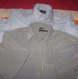 Πώληση ανδρικών πουκάμισων.