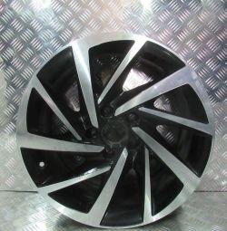 Cast disc R17.7J.H2.ET40 Volkswagen Tiguan 2 oem 5na601025P (low abrasion) (cl-3)