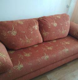 Розкладний диван-ліжко