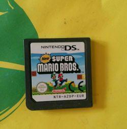 Cartridge with game * super mario *