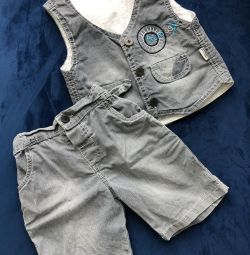 Shorts and Vest (p.80)