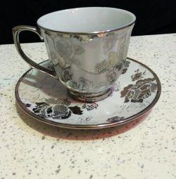 Tea pair (cup + saucer)