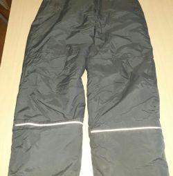 Болоневой зимові штани для дівчаток