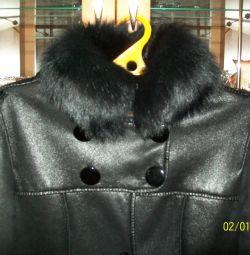 Sheepskin coat is 44-46.