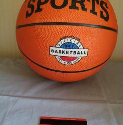 νέα μπάλα μπάσκετ