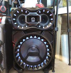Bluetooth karaoke column.