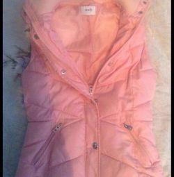Розовая жилетка оджи