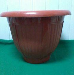 Tub for a houseplant