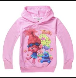 Jacket for girls 4-6 years old