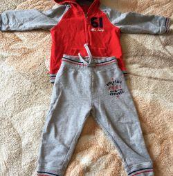 Αθλητικό κοστούμι ηλικίας 1,5-2 ετών