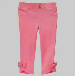 Pantaloni cu arcuri Gymboree pe 4 tone. Nou.