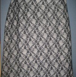 Кружевная юбка 48-50 р